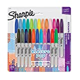 Sharpie Fine Point Limited Edition Permanent Markers 24/Pkg-80's Glam
