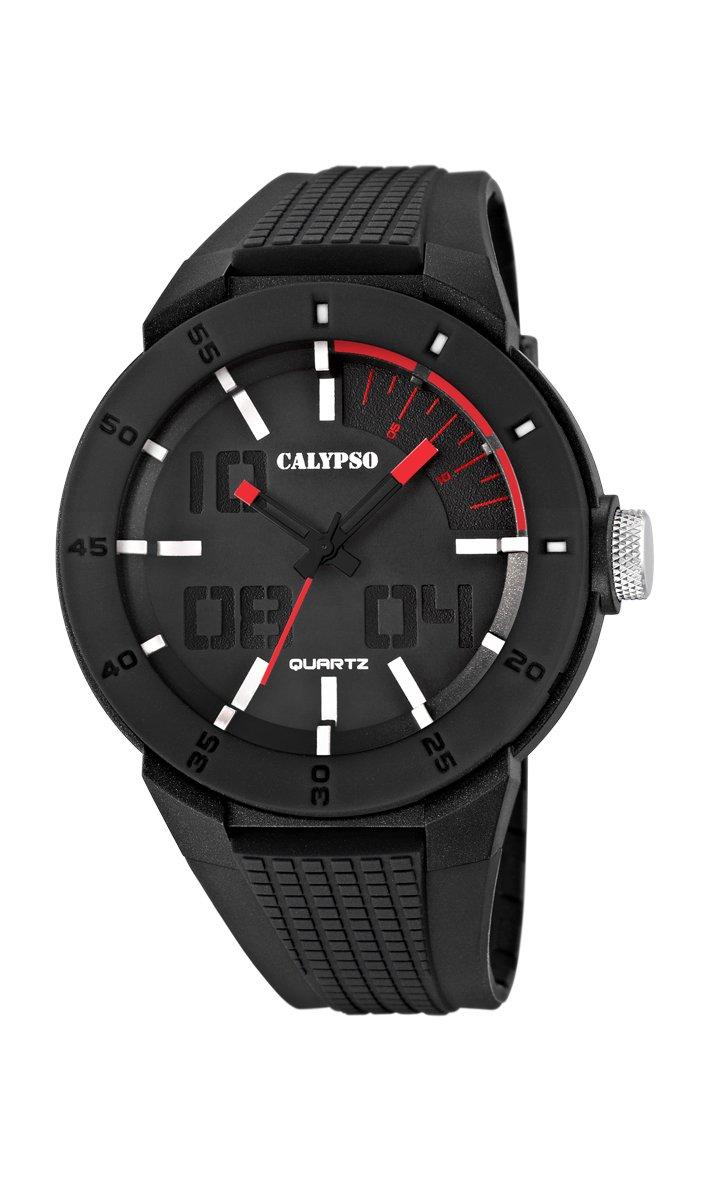 Calypso watches K5629/2 – Reloj de Pulsera Hombre, plástico, Color Negro