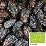 1kg getrocknete Bio Datteln Medjool mit Stein, versandkostenfrei (in D) - Medjoul Datteln unbehandelt und ohne Zuckerzusatz aus kontrolliert biologischem Anbau