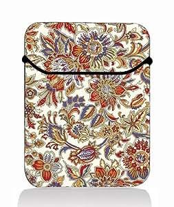 "Floral 13"" Laptop Case Bag Flip Cover Pouch for 13.3"" Samsung Series 5 9 Ultrabook / Macbook Pro 13"" 13.3"" Aluminum"