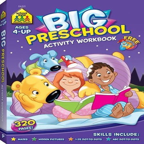 Big Preschool Activity: Dot-to-Dots, Mazes, and Hidden Pictures