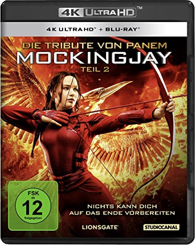 Die Tribute von Panem: Mockingjay 2 - Ultra HD Blu-ray [4k + Blu-ray Disc]