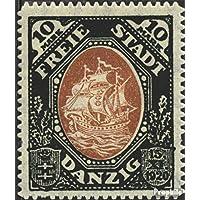 Prophila Collection Danzig 65 Gef/älligkeitsentwertung 1921 Handelskogge Seefahrt Briefmarken f/ür Sammler