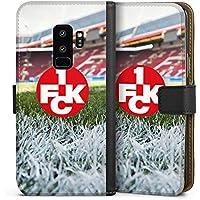 Samsung Galaxy S9 Plus Tasche Leder Flip Case Hülle 1. FC Kaiserslautern Stadion 1. FCK