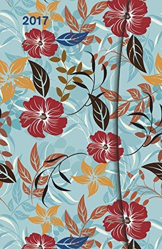 Flowers 2017 - Taschenkalender, teNeues Magneto Diary Small, Buchkalender, Wochenplaner  -  10 x 15 cm