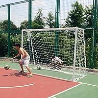 Dahen, Porta da Calcio Portatile, Rete da Allenamento per Bambini, Bianco