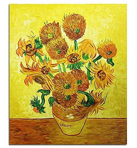 Toile Van Gogh - Fokenzary Peinture à l'huile peinte à la