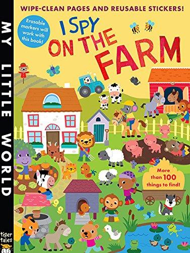 I Spy on the Farm Sticker Activity (My Little World) por Jonathan Litton
