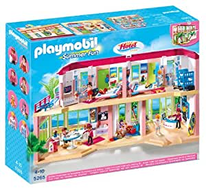 Playmobil 5265 - Jeu de Construction - Grand Hôtel: Amazon.fr: Jeux ...
