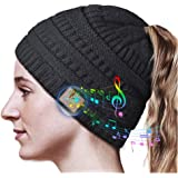 HANPURE Cappello Bluetooth Regali Natale Donna - Regali Natale Originali Berretto Bluetooth con Auricolari, Bluetooth…