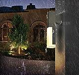 SISANLAI Lampade da parete Verso il basso di luci da parete Villa Parco Prato delle Lampade Led luce esterna impermeabile Patio Giardino Luce paesaggio esterno luce Prato residenziale lampada, lampada da parete)