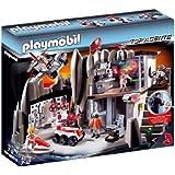 Playmobil - 4875 - Jeu de construction - Quartier général Agents Secrets avec système d'alarme