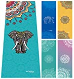 Ucooly Hot yoga towel,Non Slip and Extremely Absorbent Mat Towel with Free Gift