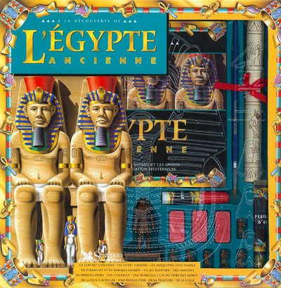 A la découverte de l'Egypte ancienne. Coffret (Hors Collection) (Coffret Boss)