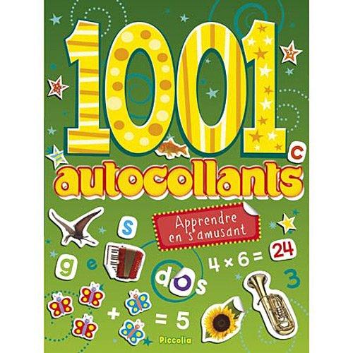 APPRENDRE AN S'AMUSANT - 1001 AUTOCOLLANTS