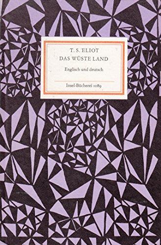 Das wüste Land. Englisch und deutsch (Insel-Bücherei 1089)