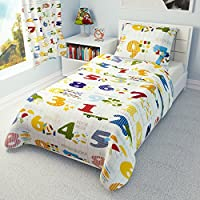 IKEA Babies Island Farm - Funda de edredón de 110 x 125 cm y funda de