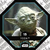 Rewe STAR WARS Cosmic Shells Normal 15 Yoda + WIZUALS STICKER