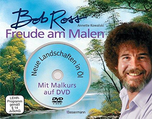 """Freude am Malen-Set. Neue Landschaften in Öl. Ein Malkurs in Buch und auf DVD: Nach der Kultserie """"The Joy of Painting"""""""