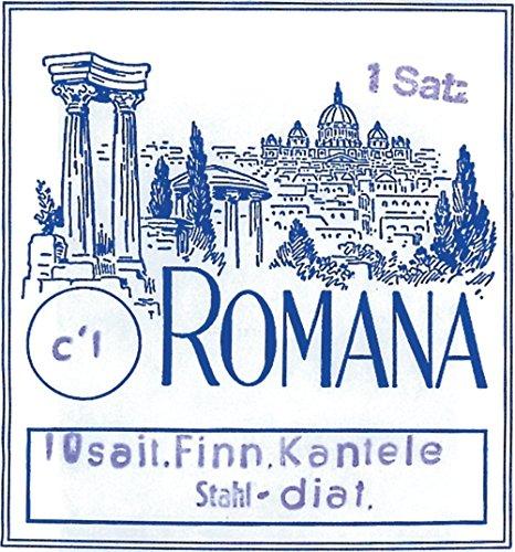 Romana Saitensatz Kantele, pentatonisch