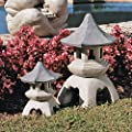 Design Toscano by Blagdon - Medium Pagoda Lantern Sculpture by Design Toscano