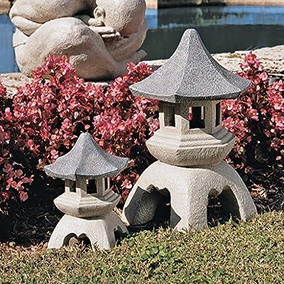 Design Toscano by Blagdon - Medium Pagoda Lantern Sculpture by Design Toscano