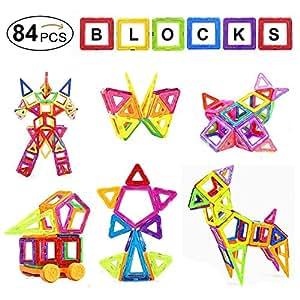 mini construction magn tique distianert 84 pi ces jeu construction cadeaux pour les enfants 46. Black Bedroom Furniture Sets. Home Design Ideas