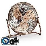 TROTEC TVM 13 Bodenventilator Kupfer Design Ventilator Windmaschine