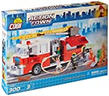 Cobi 1465, ACTION TOWN, Fire Brigade Truck, 300 building bricks by action town