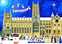 Alison Gardiner Traditional Advent Calendar: Christmas at the Cathedral