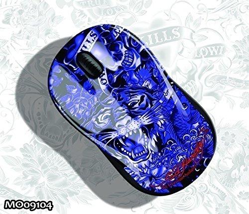 Ed Hardy MO09104 Optical Mouse Limited Edition blue