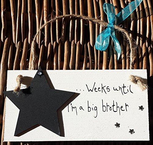 Little Miss scrabbled–Handarbeit Baby Countdown Plakette