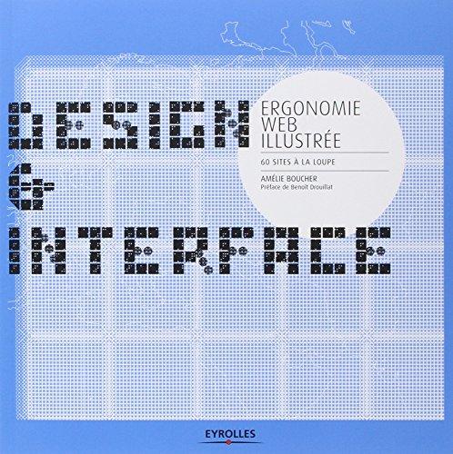 Ergonomie web illustrée - 60 sites à la loupe par Amélie Boucher