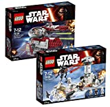 Lego Set Star Wars: 75135 Obi-Wan's Jedi Interceptor + 75138 Hoth Attack