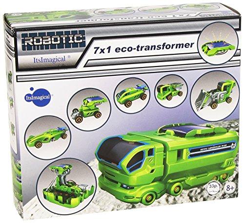 Preisvergleich Produktbild itsImagical 67264 - Fahrzeugset mit Sonnenenergie