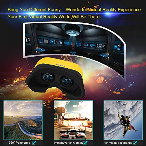 docooler Bao Feng Mojing XD-4 VR Virtual Reality Brille 3D-VR-Brille Headset 3D Movie Game Universell für Android iOS Smart Phones innerhalb von 4,7 bis 5,7 Zoll - 6