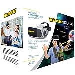Gafas Realidad Virtual Niños + Juego Educativo Idiomas . Aprende inglés, francés... Juguete 5, 6, 7, 8… años - Gafas 3D...
