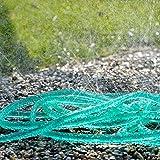 Royal Gardineer Regen Perlschlauch: Schlauch-Regner zur Garten-Bewässerung, flach, 15 m (Gartenregner Schlauch) - 4