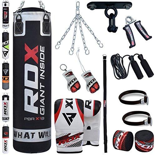 RDX Saco de Boxeo Relleno MMA Muay Thai Kick Boxing Artes Marciales Co