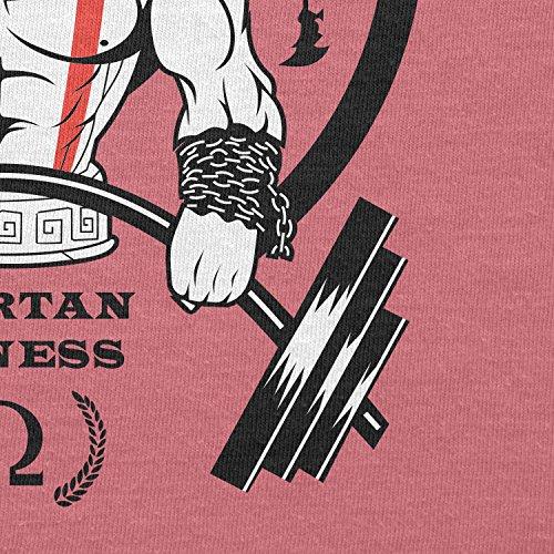 TEXLAB–God S Gym Spartan Gym–Sacchetto in tessuto Pink