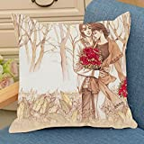#5: Special printed Cushion gift for loved once by Aart Store.