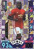 2016/17 MATCH ATTAX 100 CLUB PAUL POGBA MAN UTD HUNDRED CLUB CARD #468
