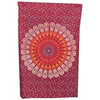 Handicrunch INDIAN MANDALA WALL HANGING / THROW by uberdelic (home