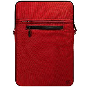 Vangoddy Hydei Carrying Case Bag Professional for Apple Macbook Pro 13 inch Notebook MacBook Air 13 Inch Notebook (Red)