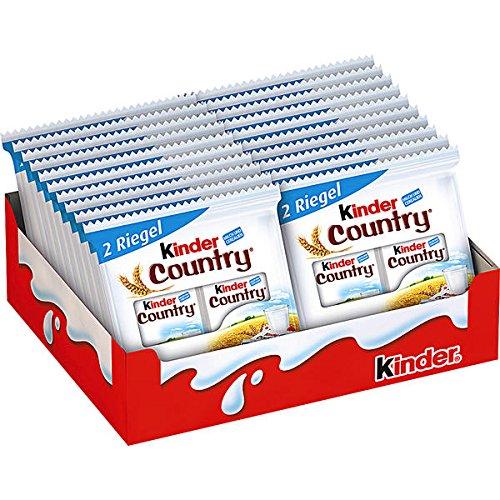 Kinder Country Doppelriegel, 20er Pack (20 x 2 Riegel (Kostüme Kinder Country)