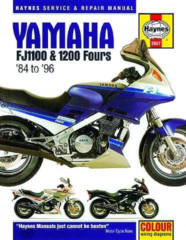 Yamaha FJ 1100 1200 Repair Manual Haynes Service Manual Workshop
