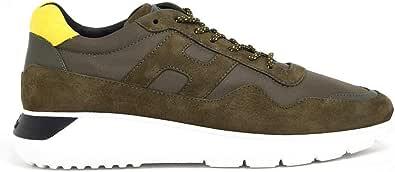 Hogan Luxury Fashion Uomo HXM3710AJ15OCY619U Verde Camoscio Sneakers | Primavera-Estate 21