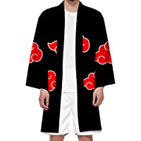 Instalación Unisex Naruto Abito lungo Mantello Akatsuki Costumi Kimono Cape Uchiha Itachi Giacca cardigan cosplay per…