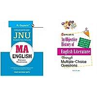 Jawaharlal Nehru University (JNU) MA English Entrance Exam Guide+An Objective History of English Literature Through…