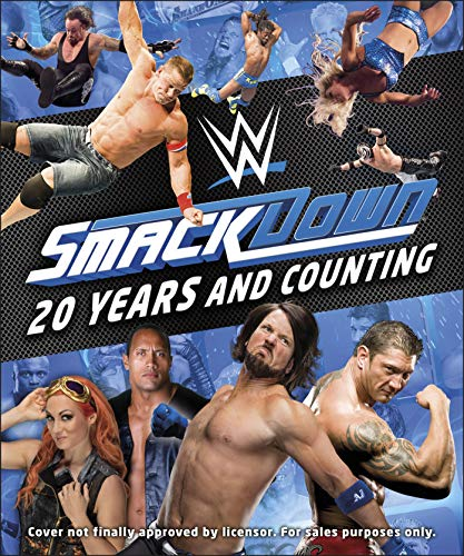 WWE SmackDown 20 Years and Counting por DK